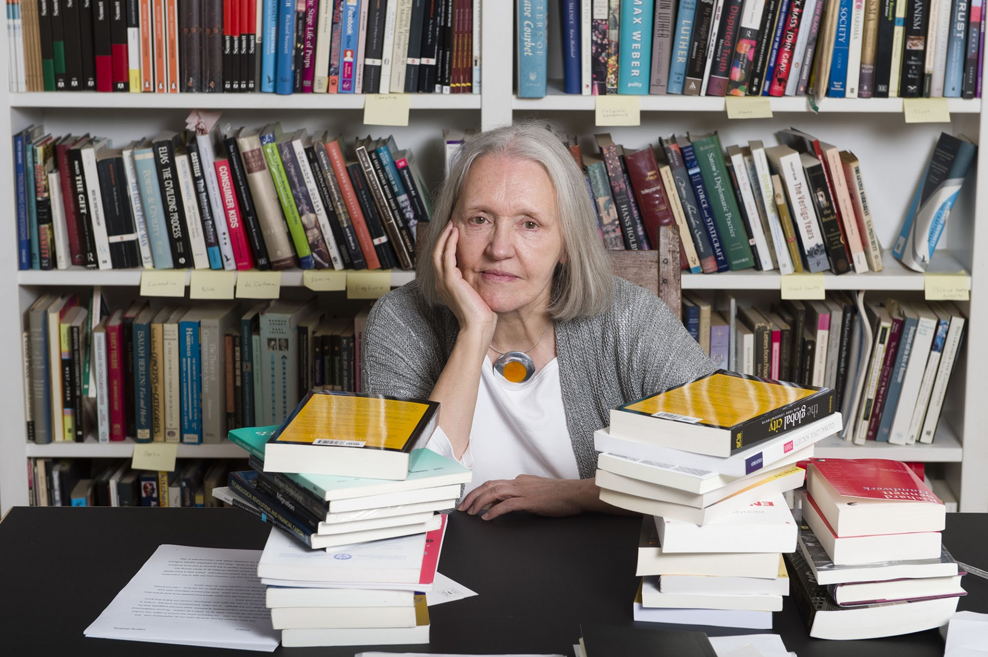 photo of Saskia Sassen